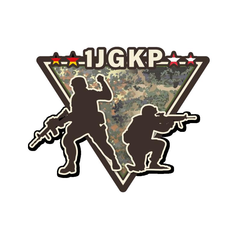 1. Jäger-Kompanie Logo